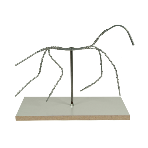 "Sculpture House Almaloy Aluminum Animal Armatures - 10"" with Board-0"