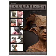 """John Brown Sculpture Kit with  """"Sculpting Expression and Fantasy Characters: Part 1"""" DVD Tutorial-138"""