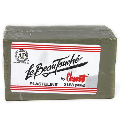 Chavant Le Beau Touché Green Clay 10 lb 1/4 case