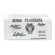 Roma 2 – Sculpture House Roma Plastalina  Modeling Clay – 1/4 case – Grey Green – Medium-0