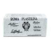Roma 3 – Sculpture House Roma Plastalina  Modeling Clay – 1/4 case – Grey Green – Medium – Firm-0