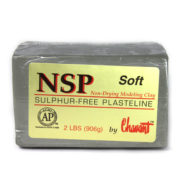 Chavant NSP (Non Sulphurated Plasteline) Green Soft Clay