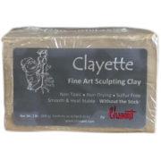 Chavant Clayette tan modeling clay