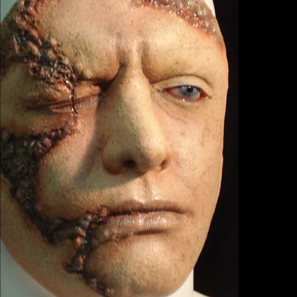 RD-407 Halloween White special effects sfx prosthetic Latex Mask
