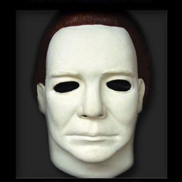 RD-407 Halloween White Michael Meyers Latex Mask