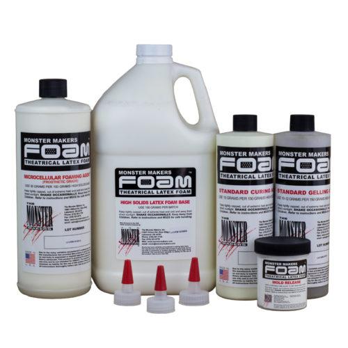 Foam Latex Kit (1 Gallon) - Prosthetic - Monster Makers