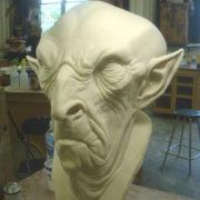 RD-407 Halloween White monster creature Latex Mask