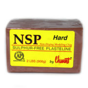 Chavant NSP (Non Sulphurated Plasteline) Brown Hard Clay