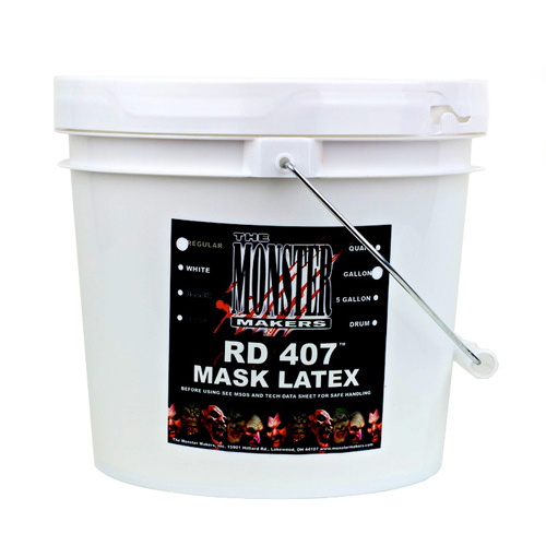 RD-407 Latex for spfx masks, props, and prosthetics