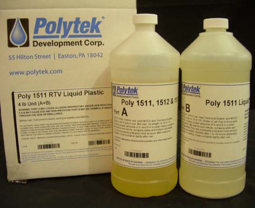 Polytek Poly 1511 Liquid Plastic - 4 lbs-0
