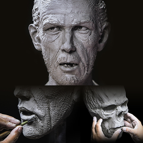 "Sculpting Kit - Jordu Schell's ""Human Head Anatomy and Sculpture""-0"
