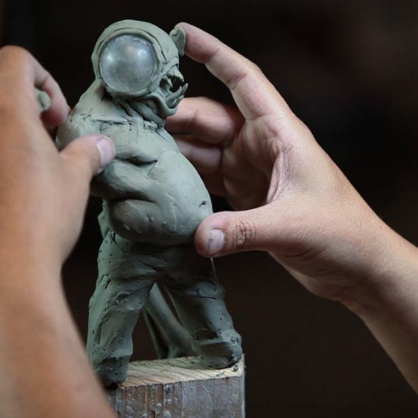 "Sculpting Kit – Jordu Schell's ""How to Sculpt Character Maquettes""-964"