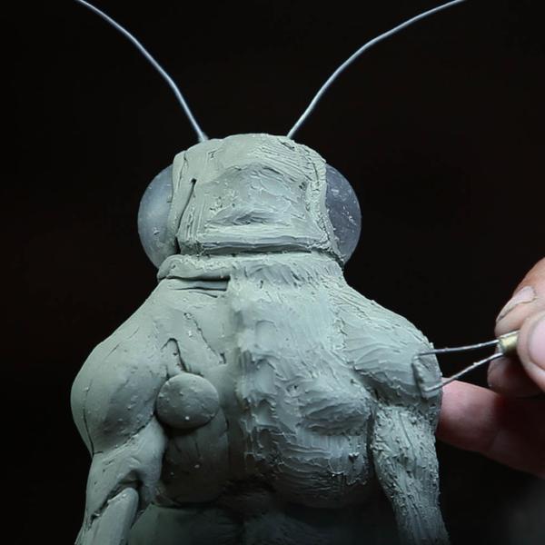 "Sculpting Kit – Jordu Schell's ""How to Sculpt Character Maquettes""-963"
