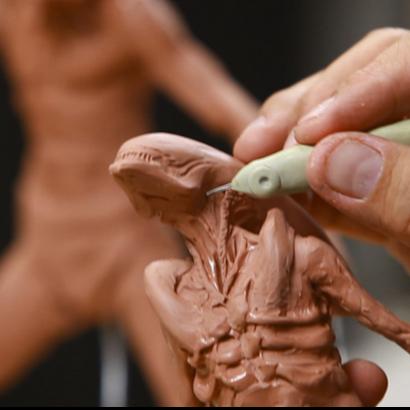 """Sculpting Kit – Simon Lee's """"Sculpture Techniques – How to Sculpt Dynamic Characters""""-972"""