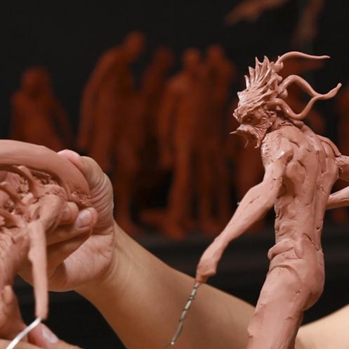 """Sculpting Kit – Simon Lee's """"Sculpture Techniques – How to Sculpt Dynamic Characters""""-973"""