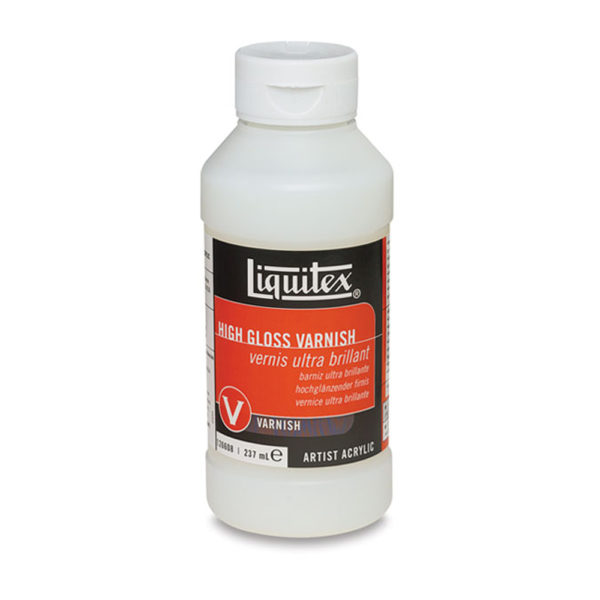 Liquitex High Gloss Varnish 8 oz