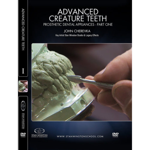 Stan Winston School DVD - Advanced Creature Teeth - Prosthetic Dental Appliances - Part 1 – John Cherevka