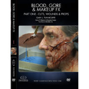 Stan Winston School DVD –  Blood, Gore and Makeup Effects Part 1 – Cuts, Wounds, Props – Gary J. Tunnicliffe
