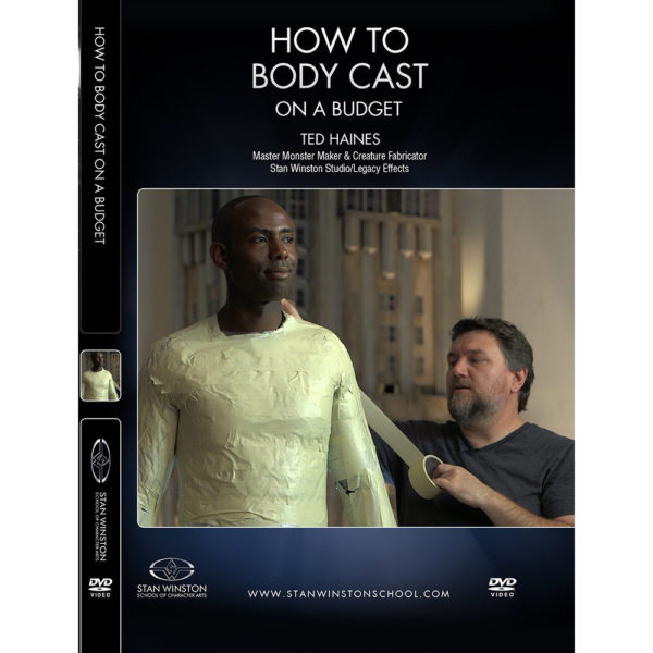 Stan Winston School DVD – How to Body Cast and Create a Custom Mannequin on a Budget – Ted Haines