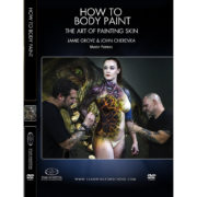 Stan Winston School DVD – How to Body Paint – The Art of Painting Skin