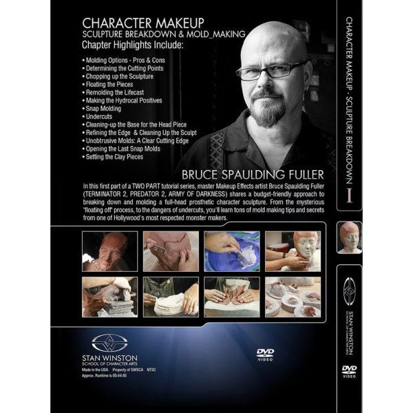 Stan Winston School DVD – Character Makeup – Sculpture Breakdown and Mold Making – Part 1 – Bruce Spaulding Fuller