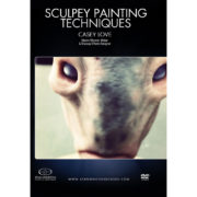 Stan Winston School DVD – How to Paint Creatures – Sculpey Painting Techniques – Casey Love