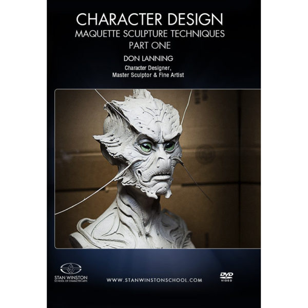 Stan Winston School DVD – Character Design – Part One: Sea Monster Maquette Sculpture – Don Lanning