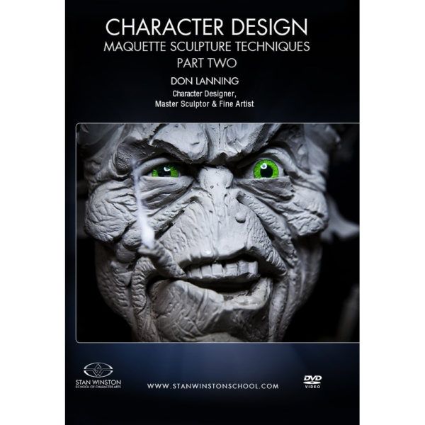 Stan Winston School DVD – Character Design – Part Two: Alien Maquette Sculpture