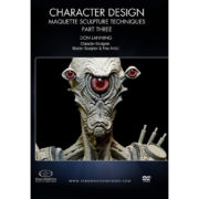 Stan Winston School DVD – Character Design – Part Three: Space Creature Maquette Sculpture