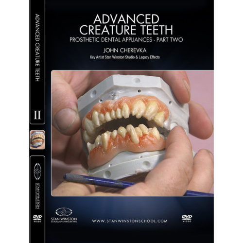 Stan Winston School DVD - Advanced Creature Teeth - Prosthetic Dental Appliances - Part 2 – John Cherevka