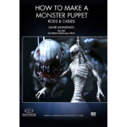 Stan Winston School DVD – How to Make a Monster Puppet – Rods and Cables – David Monzingo