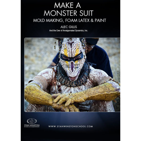 Stan Winston School DVD – Make a Monster Suit Part 2 – Mold Making, Foam Latex, and Paint – Alec Gillis