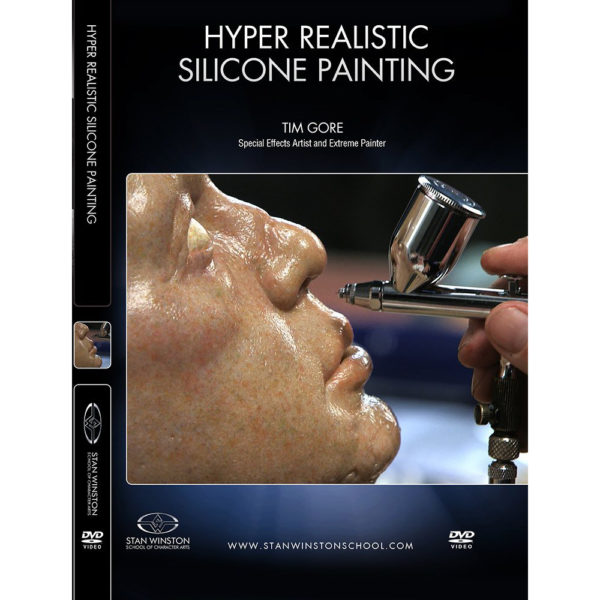 Stan Winston School DVD – How to Paint Realistic Silicone Skin – Silicone Painting Techniques – Tim Gore