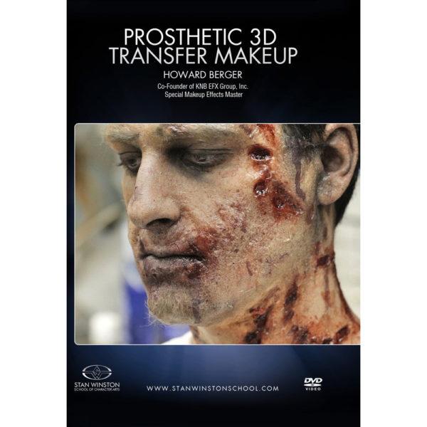 Stan Winston School DVD – Zombie Makeup: 3D Prosthetic Transfer Application – Howard Berger