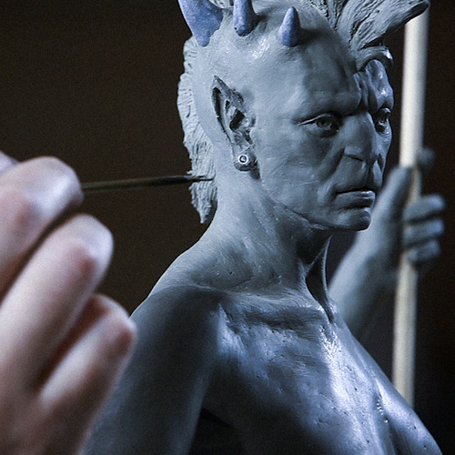 """Stan Winston – Alfred Paredes """"Figure Sculpture for Characters – Sculpting with a Live Model"""""""