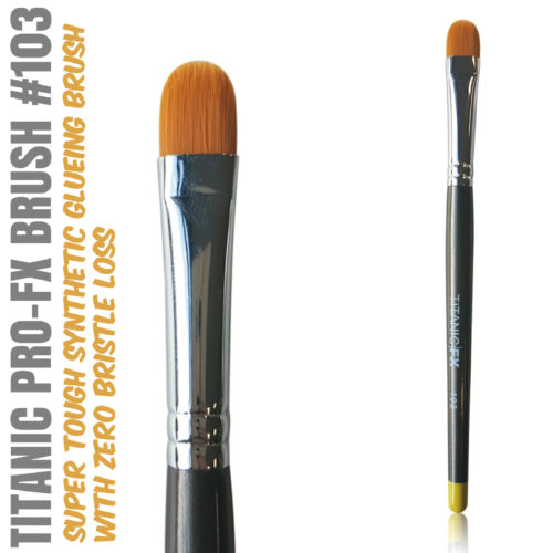 Titanic Pro-FX Brush 102 Medium Filbert Brush