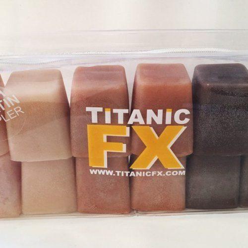 Titanic FX Prosthetic Gelatin Flesh Sampler
