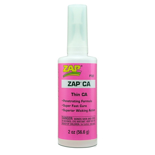 Zap thin 2 oz